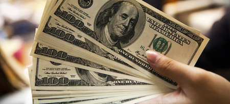 Left or right tipos de dolar