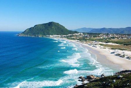 Left or right praia do santinho