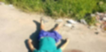 Left or right homem morto as margens da rodovia do contorno 12 12 2018