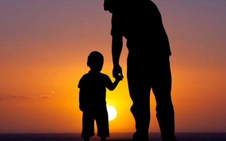 Left or right pai e filho