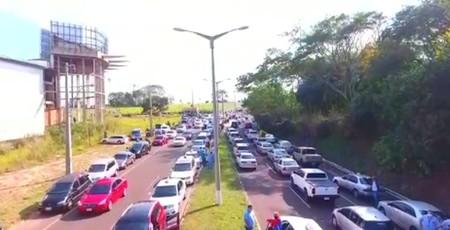 Left or right paraguai