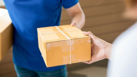 Left or right caixa entrega